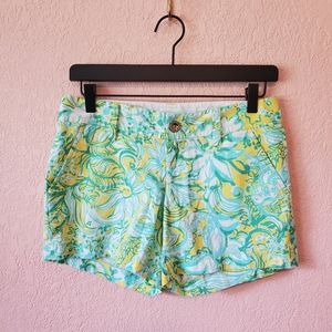 Lilly Pulitzer Dandelion Yellow Callahan Shorts